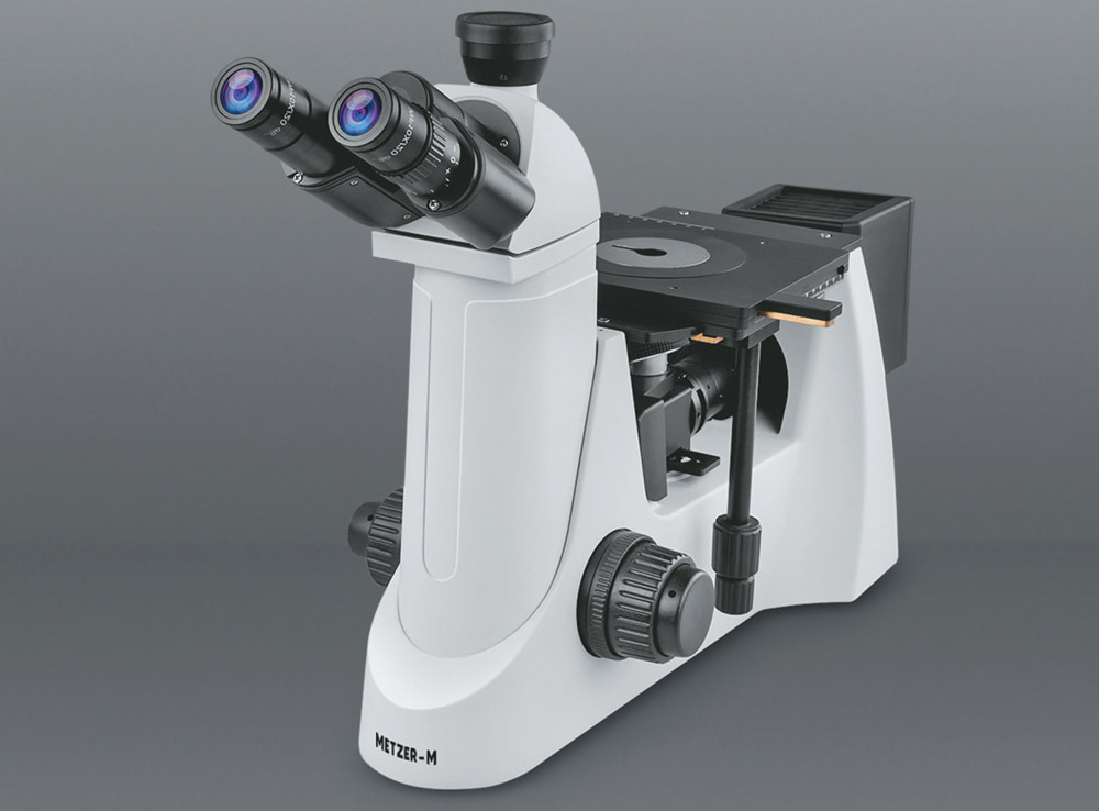 ADVANCED CO - AXIAL INVERTED TRINOCULAR METALLURGICAL MICROSCOPE VISION PLUS - 5000 ITM (MAX)
