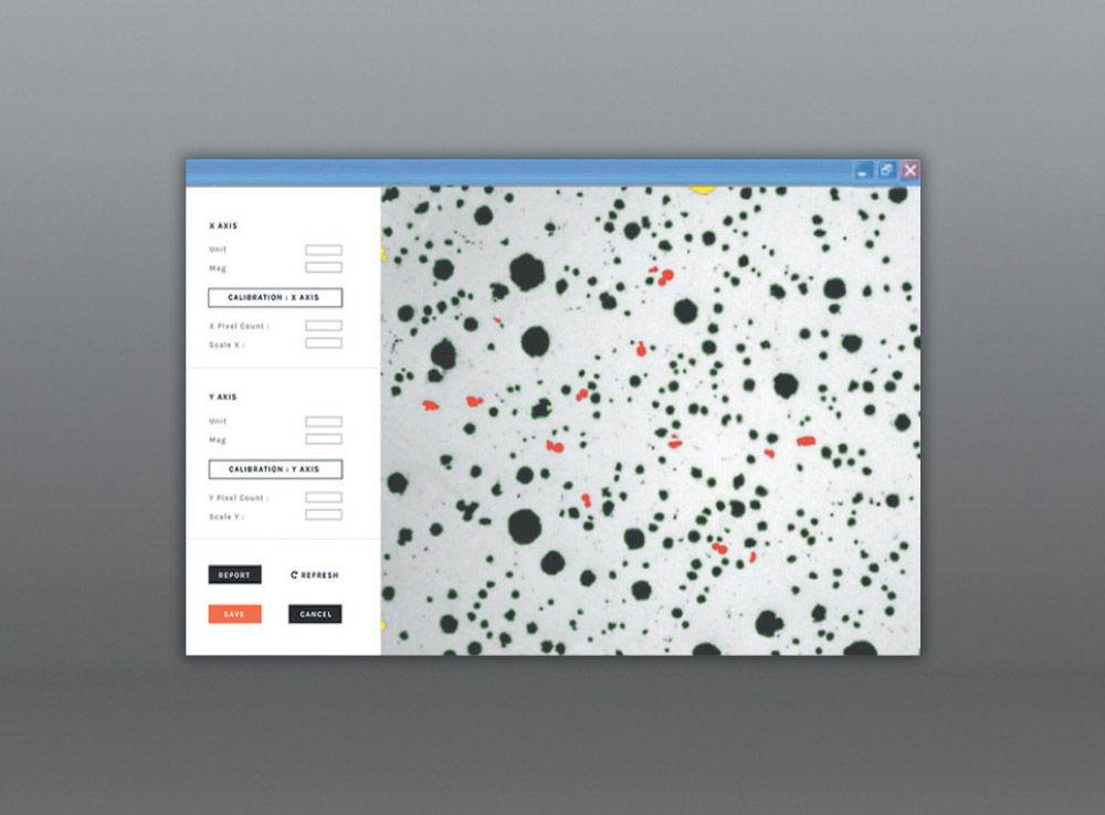 FOUNDARY PLUS METALLURGICAL MICRO IMAGE ANALYSIS SOFTWARE
