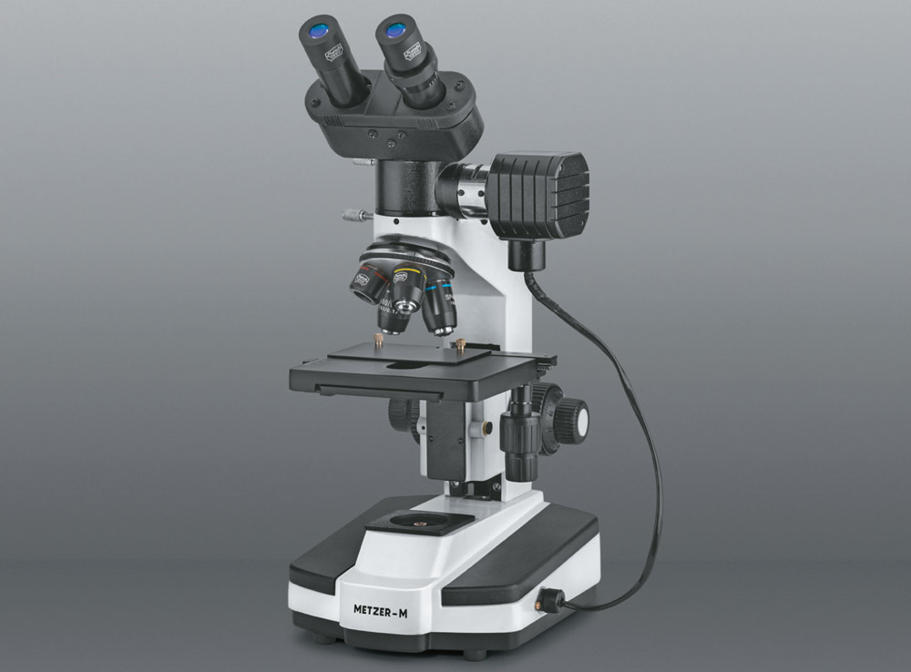 CO-AXIAL BINOCULAR RESEARCH METALLURGICAL MICROSCOPE