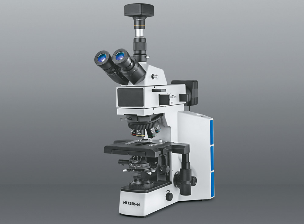CO-AXIAL TRINOCULAR RESEARCH METALLURGICAL MICROSCOPE VISION PLUS - 5000 TMM (PRO)